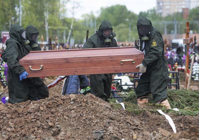 Funeral en Rusia (imagen referencial)