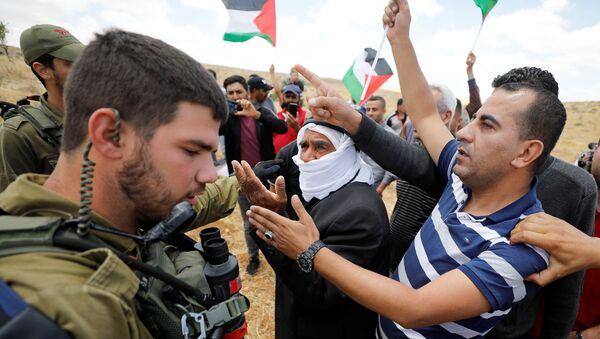 Protestas contra la anexión de Cisjordania - Sputnik Mundo