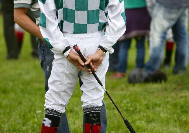 Un jockey. Imagen referencial