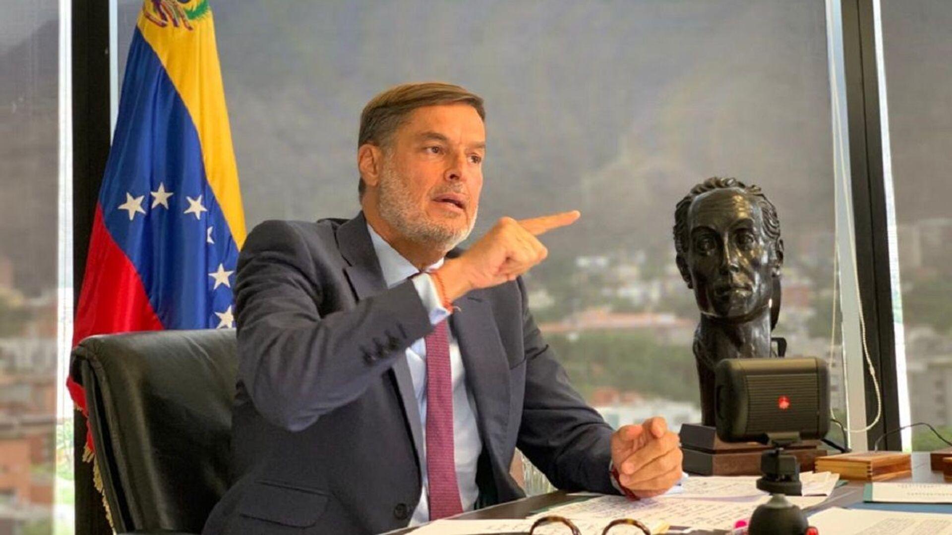 Félix Plasencia, el canciller de Venezuela - Sputnik Mundo, 1920, 13.09.2021