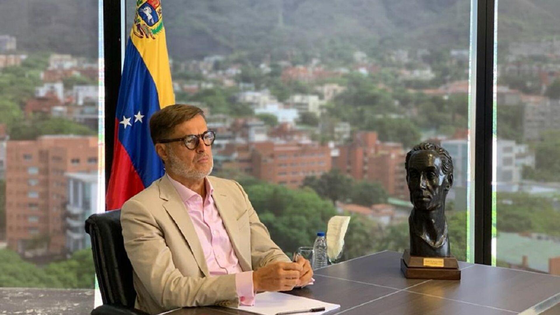 Félix Plasencia, el ministro del Poder Popular para el Turismo y Comercio Exterior de Venezuela  - Sputnik Mundo, 1920, 20.08.2021