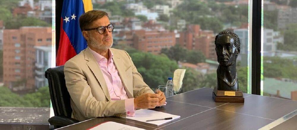 Félix Plasencia, el ministro del Poder Popular para el Turismo y Comercio Exterior de Venezuela