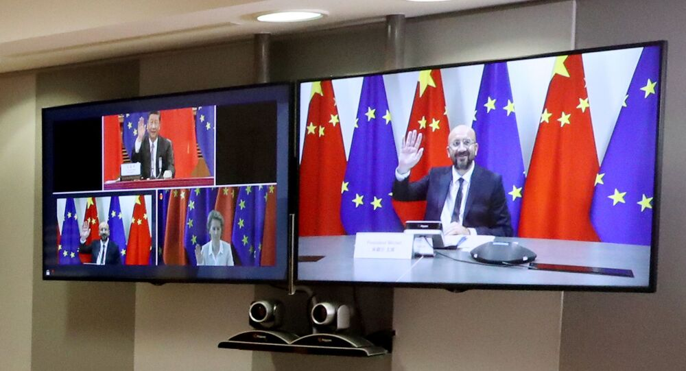 Cumbre virtual entre la UE y China