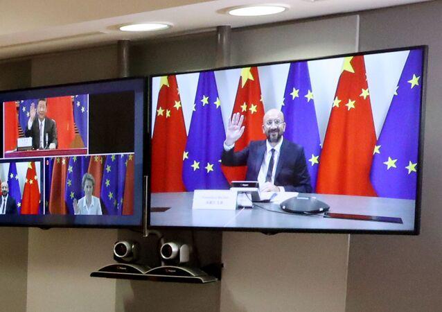 Cumbre virtual entre la UE y China