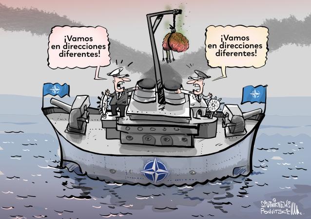 Macron vuelve a la carga e insiste en la muerte cerebral de la OTAN