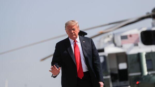 El presidente de los EEUU, Donald Trump - Sputnik Mundo