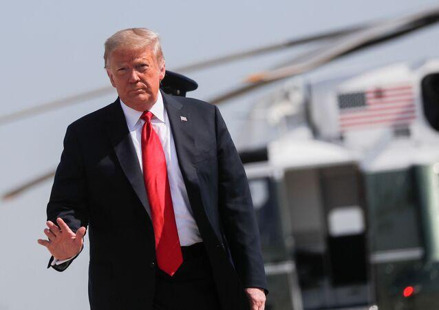 El presidente de los EEUU, Donald Trump
