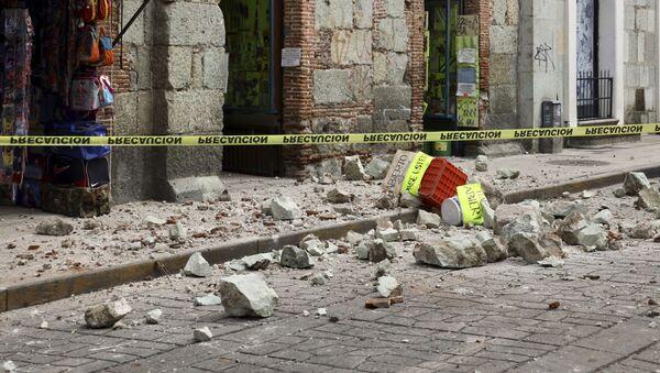 Terremoto en Oaxaca, México - Sputnik Mundo