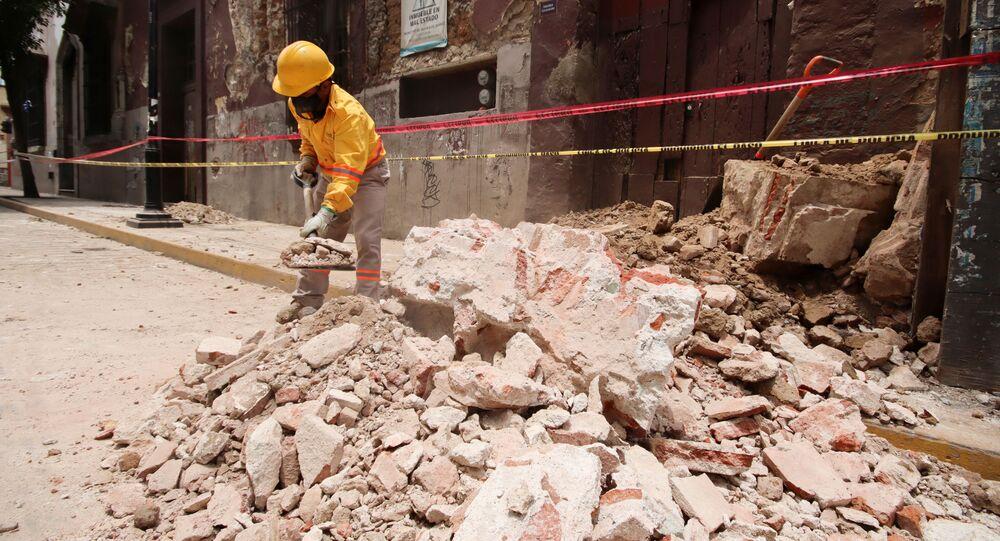 Terremoto en Oaxaca, México