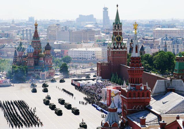 Moscú celebra un grandioso desfile por el 75 aniversario de la victoria sobre el nazismo