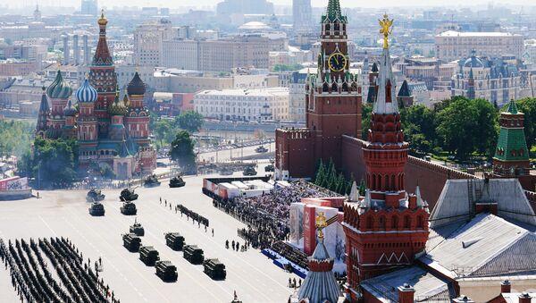 Moscú celebra un grandioso desfile por el 75 aniversario de la victoria sobre el nazismo - Sputnik Mundo