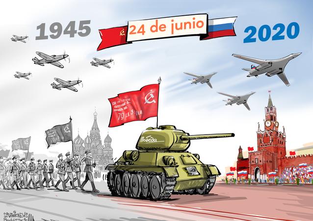 Miles de militares y cientos de armas: Rusia celebra el Desfile de la Victoria