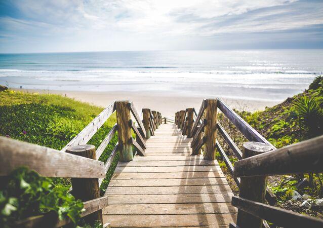 Imagen referencial de una playa