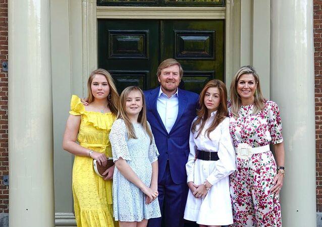 La familia real de los Países Bajos