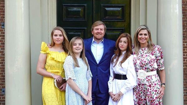 La familia real de los Países Bajos - Sputnik Mundo