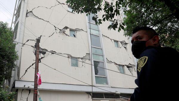 Terremoto en México - Sputnik Mundo