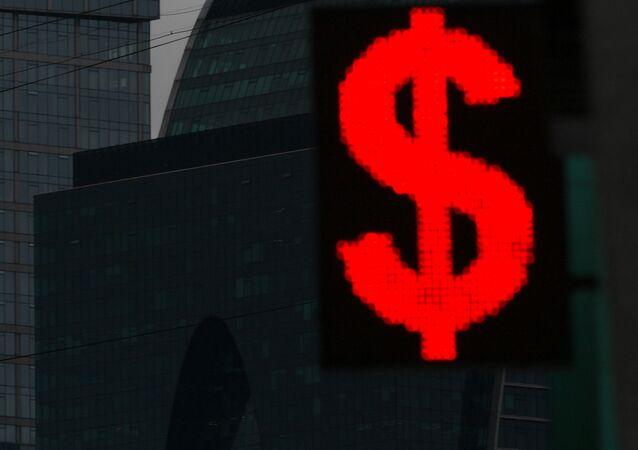 El signo del dólar de EEUU