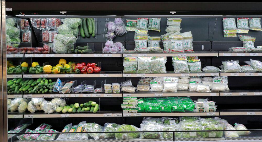 Verduras en un supermercado (imagen referencial)