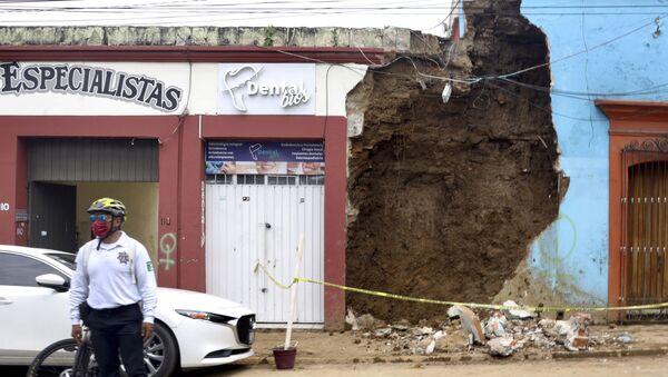 Terremoto en el estado de Oaxaca, México - Sputnik Mundo