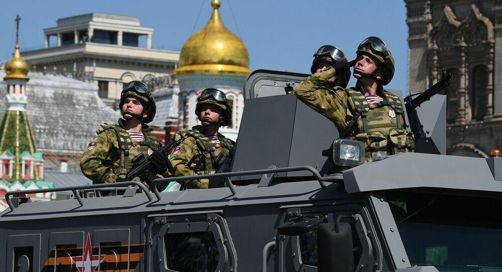 Vladimir Putin preside Desfile de la Victoria en Moscú