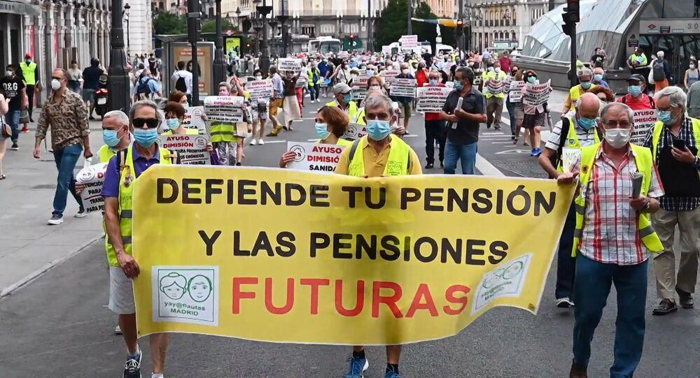 Los pensionistas piden la dimisión de Ayuso: Han muerto 6.000 personas por falta de cuidados