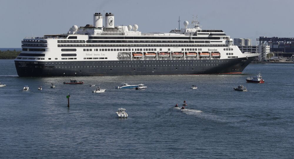 El crucero Zaandam