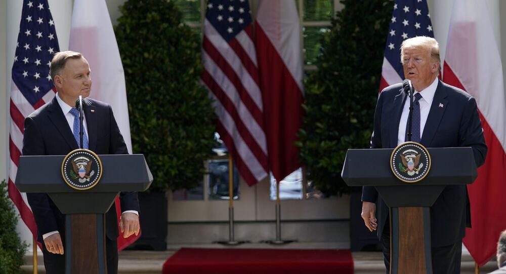 Visita de Andrzej Duda, presidente de Polonia, a la Casa Blanca