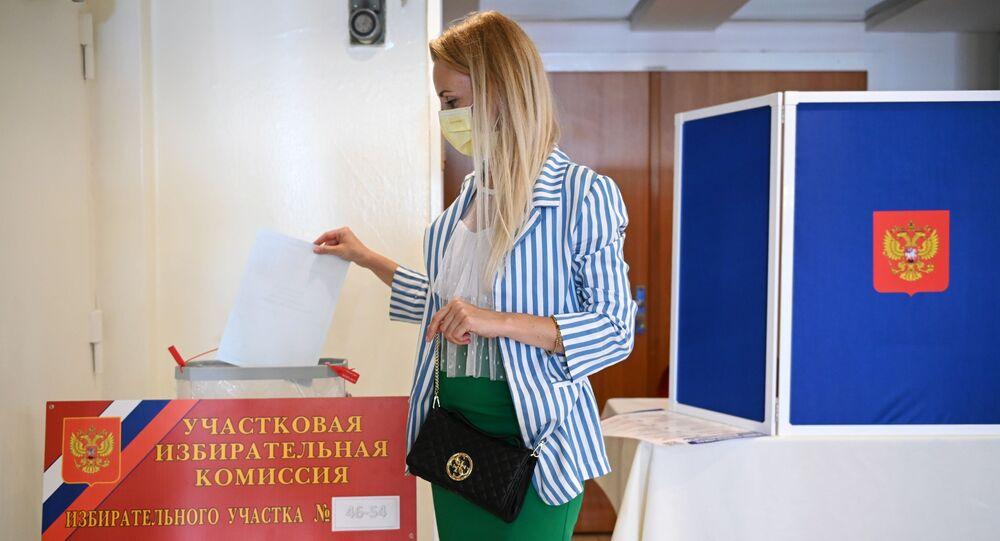 Votación de las enmiendas constitucionales en Rusia