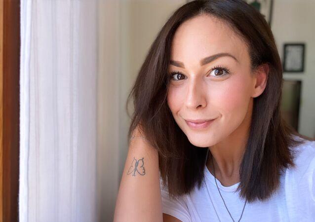 Nouna Lozano, adicta recuperada de 32 años