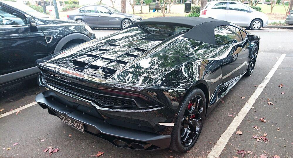 Un Lamborghini modelo Huracán Spyder (imagen referencial)