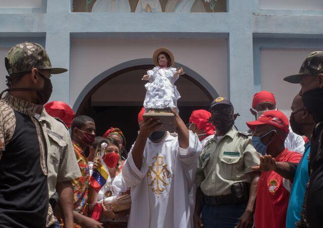 Pobladores de Curiepe resistieron para celebrar sus fiestas de San Juan a pesar de la pandemia por COVID-19