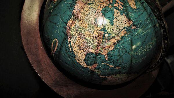 Mapa de América del Norte - Sputnik Mundo