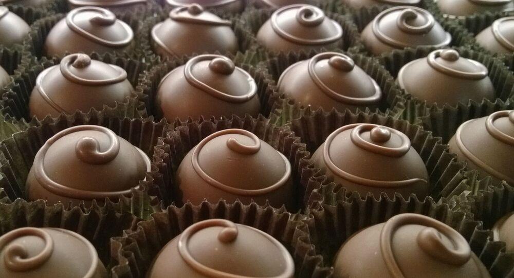 Bombones de chocolate (imagen referencial)