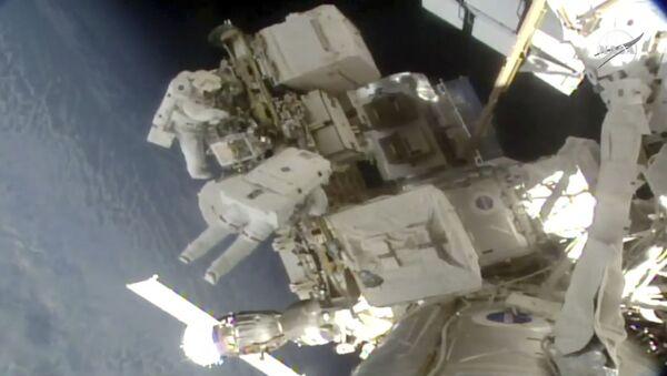 Una caminata espacial (archivo) - Sputnik Mundo
