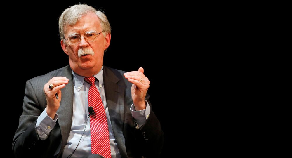 John Bolton, exasesor de seguridad de EEUU