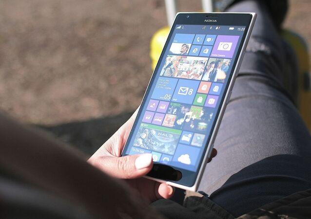 Un teléfono inteligente de Nokia (imagen referencial)