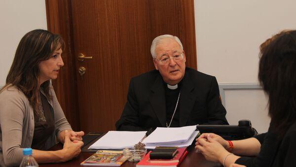 Juan Antonio Reig Pla, obispo de Alcalá de Henares - Sputnik Mundo
