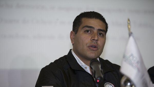 Omar García Harfuch, secretario de Seguridad Ciudadana de Ciudad de México - Sputnik Mundo