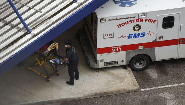 Una ambulancia en Texas - Sputnik Mundo