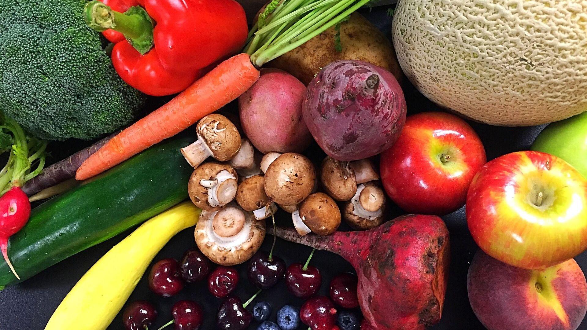 Frutas y verduras (imagen referencial) - Sputnik Mundo, 1920, 08.09.2021