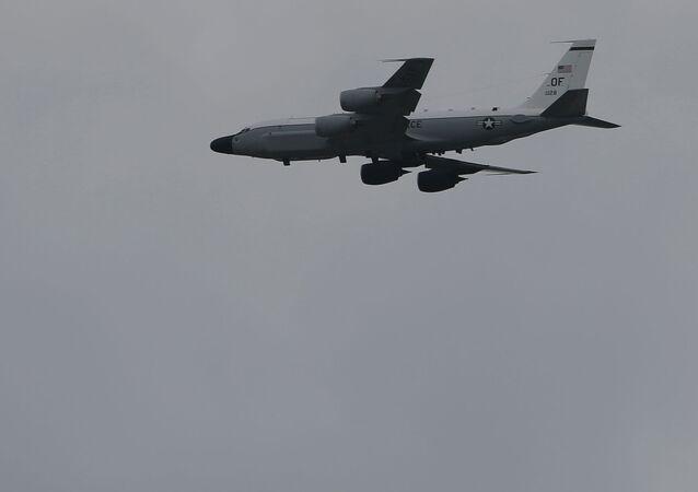 Avión de reconocimiento estadounidense RC-135S