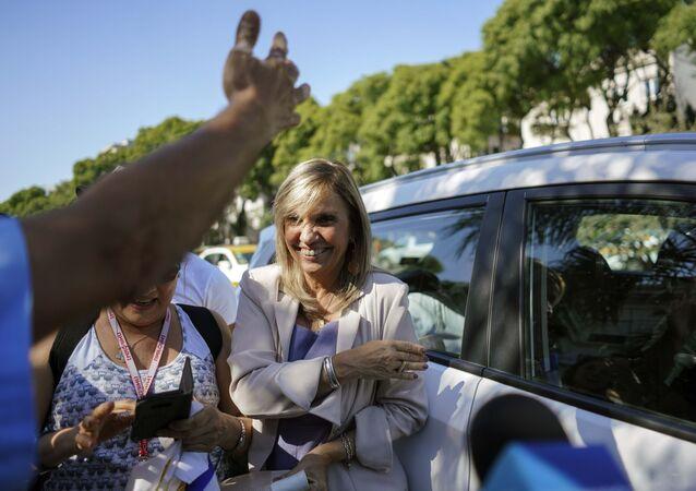 La vicepresidenta uruguaya Beatriz Argimón