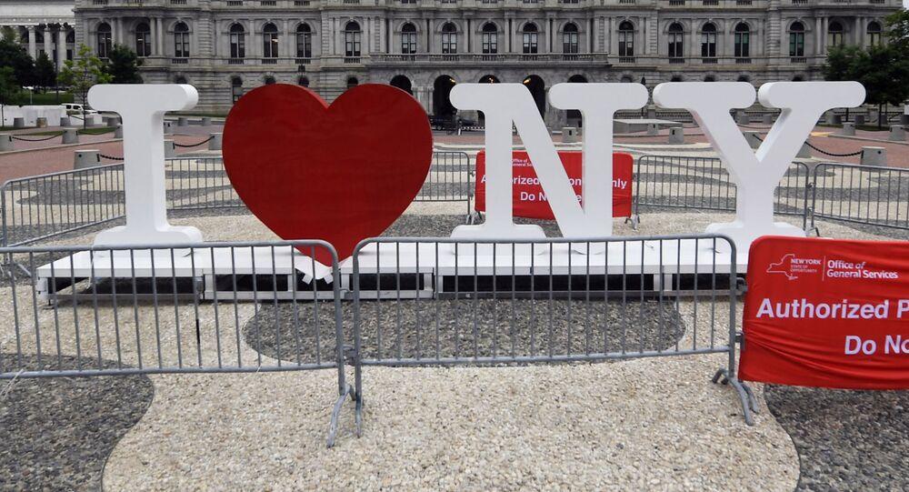 El logo 'I Love NY'