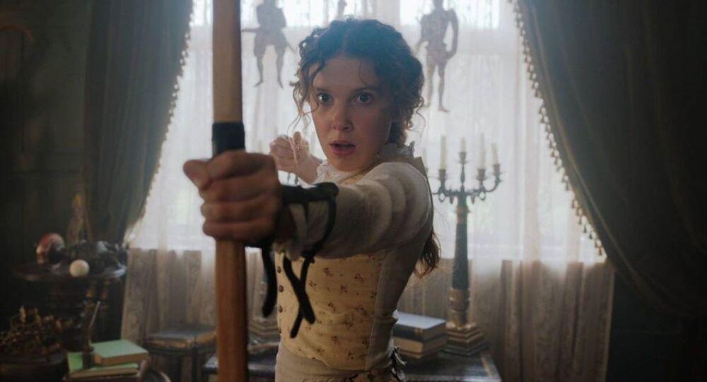 'Enola Holmes', captura de pantalla
