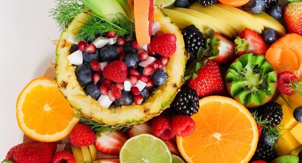Frutas, imagen referencial