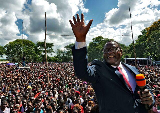 Lazarus Chakwera, presidente electo de Malaui