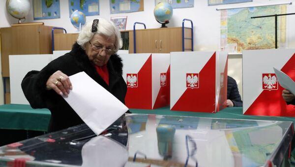 Elecciones en Polonia (archivo) - Sputnik Mundo