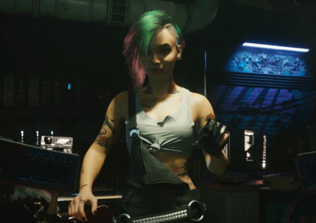 El videojuego Cyberpunk 2077, captura de pantalla