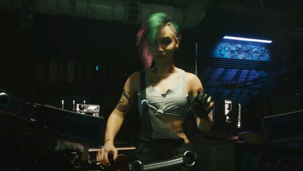 El videojuego Cyberpunk 2077, captura de pantalla - Sputnik Mundo