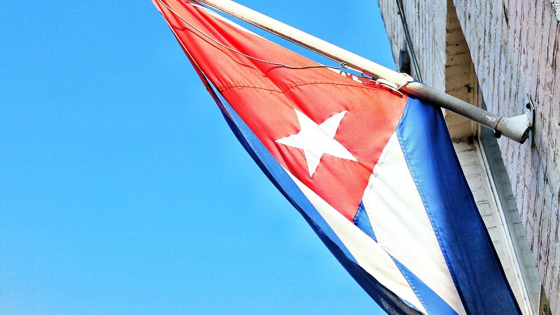La bandera de Cuba - Sputnik Mundo, 1920, 12.07.2021